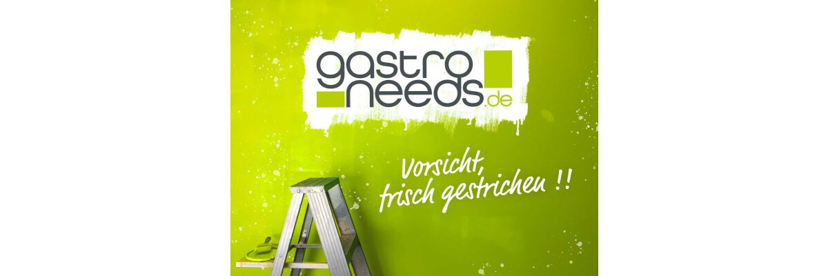 Neuer Look, verbessertes System, mehr Leistung - GastroNeeds.de erhält einen frischen Anstrich und ein neues Shop-System mit vielen tollen Funktionen. + Relaunch-Rabattaktion