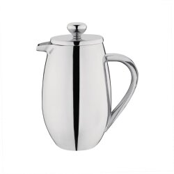 Gerundete Isolierte French Press Edelstahl Olympia 35 cl...