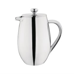 Gerundete Isolierte French Press Edelstahl 80 cl Olympia